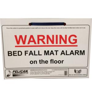 1-Bed-Fall-Mat-Alarm-Warning-Card