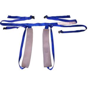 chair belt for sliders - rear fastening