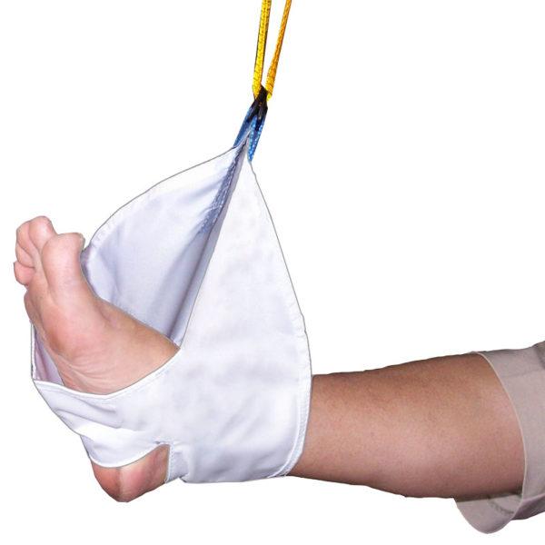 Foot Heel Sling in use