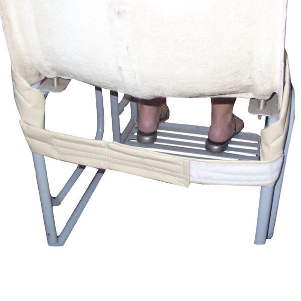 Shower Belt in use