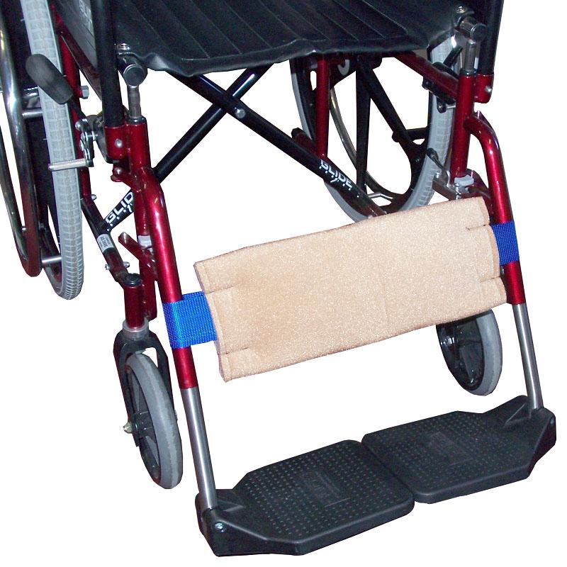 Velour Wheelchair Calf/Heel Strap