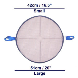 Handi-Soft Turn Pad dimensions