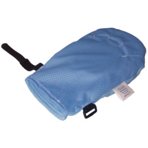mitt padded and vented