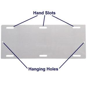 Slide Board – Trolley Hand Slots – 150cm