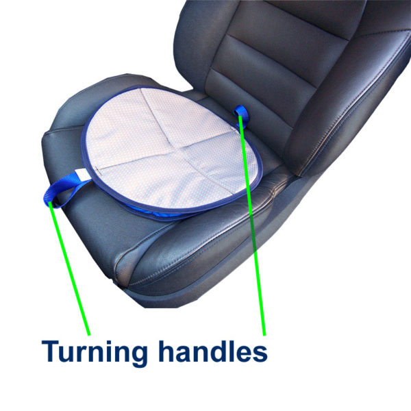Handi-Soft Turn Pad in use
