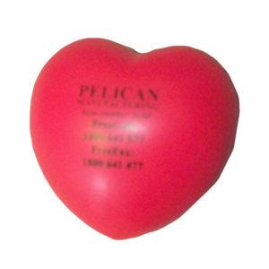 Pelican Stress Ball Heart