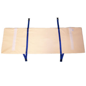 bed rail protector strap on