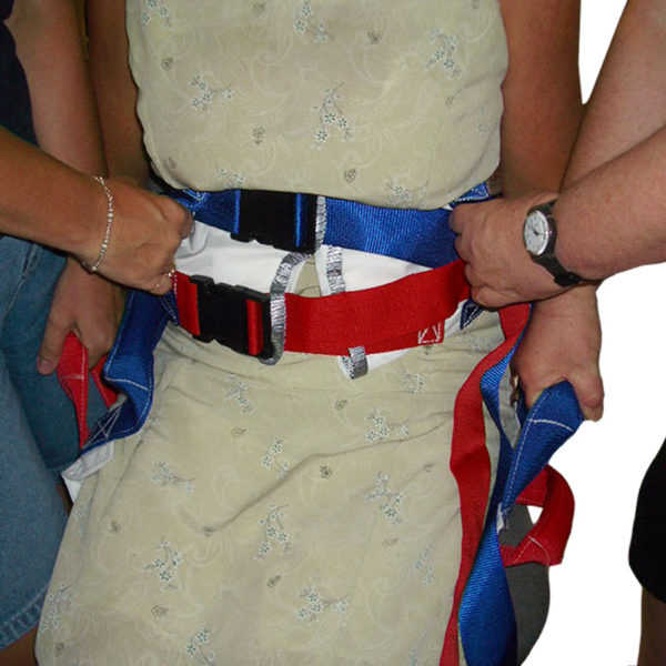 Handi Lift Walk Belt AS in use