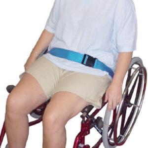 Lap Belt – Shoulder Sash Belt – Buckle in use