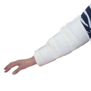 Soft Arm Splint in use
