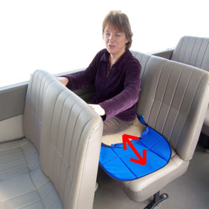 car bus seat slide pad