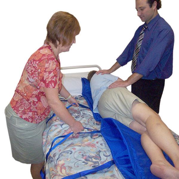 Slide Board Mat in use