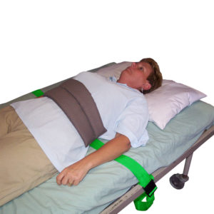 Soft Bed Belt in use
