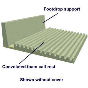 Heel & Footdrop Bed Support shown without cover