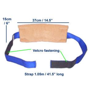 4-Velour-Wheelchair-Calf-Heel-Strap