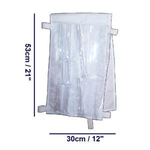 Oxygen Bottle Accessory Bag dimensions