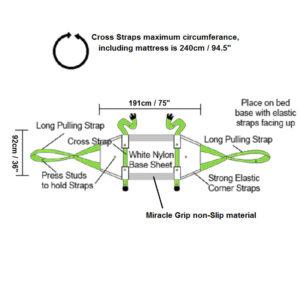 ResQsheet for Vinyl & Carpet dimensions