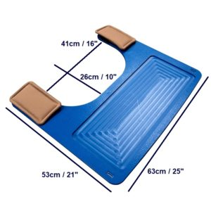 5 – Wheelchair Tray dims