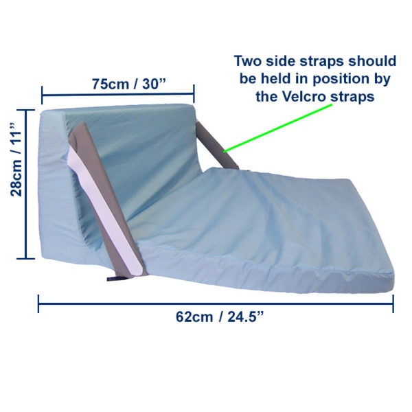 Heel & Footdrop Bed Support dimensions