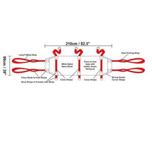 ResQsheet Bariatric dimensions