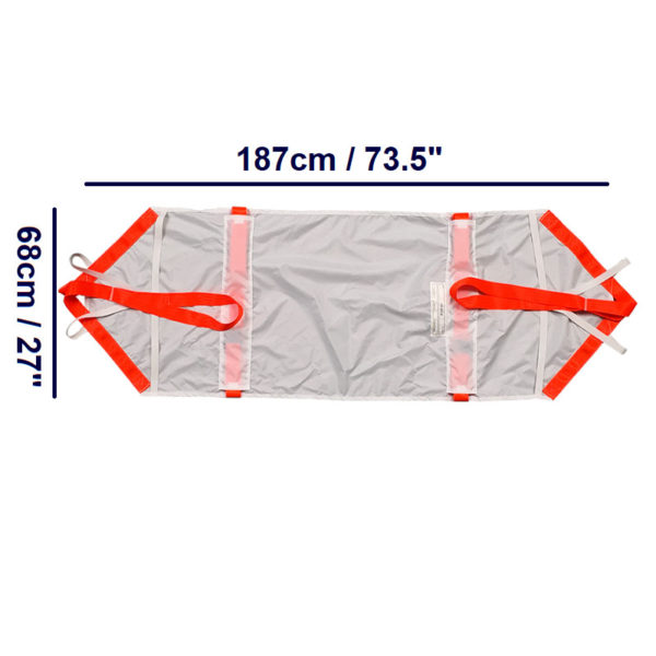 ResQsheet for Trolley Bed dimensions