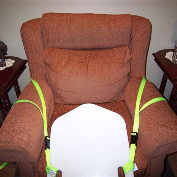 8ResQslide Board Chair Strap Kit