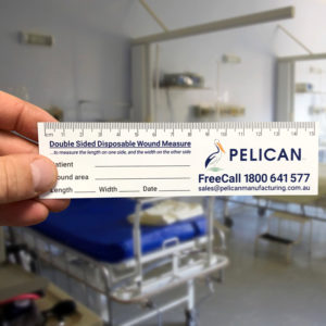 disposable wound care ruler