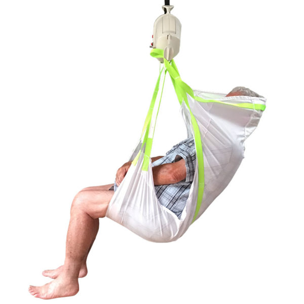 Hammock with Hole Sling in use