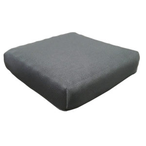 pressure relief cushion with air mesh cover