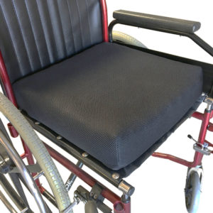 Pressure Relief Cushion – Airmesh Cover in use