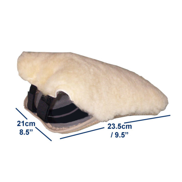 Sheepskin Velour Footplate Covers dimensions