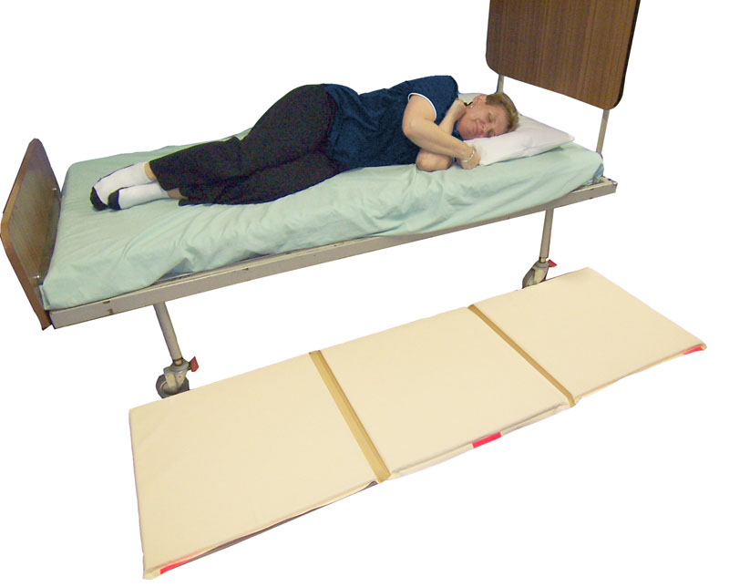 bed fall mat