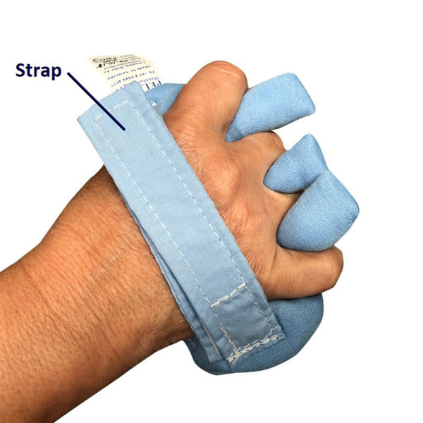 hand contraction pad – full padded – with strap