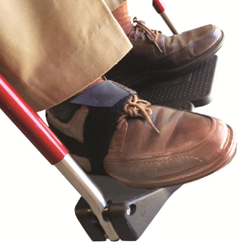 footplate holder straps