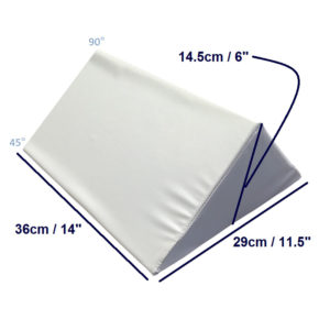 bed wedge large three quarters