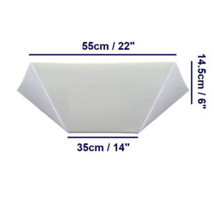 bed wedge angled
