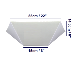 Bed Wedge - Large - Angled Dims
