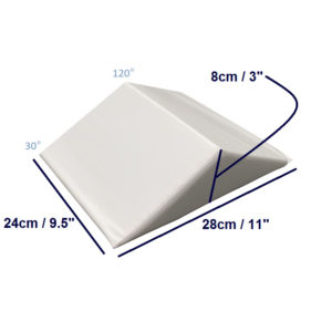 bed wedge small half length