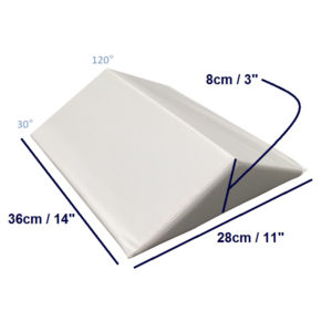 bed wedge small three quarter