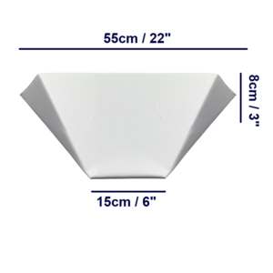 Bed Wedge - Small - Angled Dims
