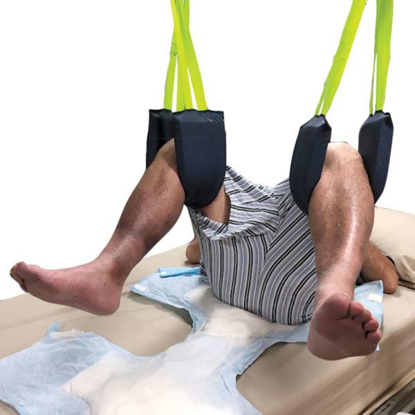Leg Lifting Hygiene Slings lifted