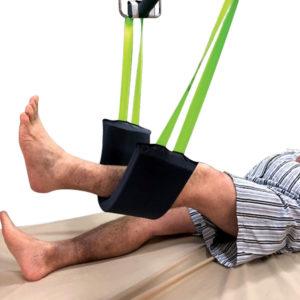 Leg Arm Sling Heat Sealed in use