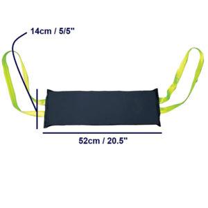 Leg Arm Sling – Heat Sealed dimensions