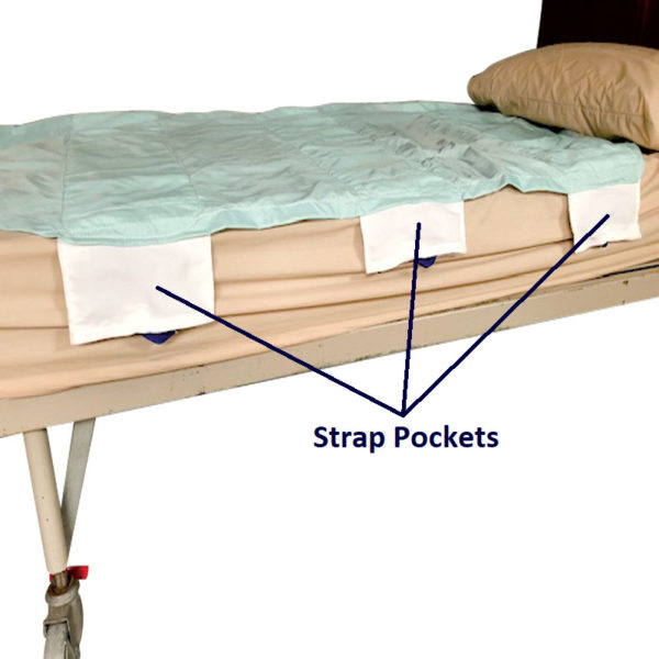 Positioning Sling – Bariatric – Straps in storage pockets