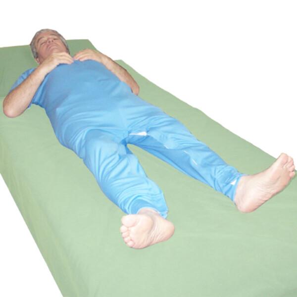 One Piece Underwear with Leg Zip