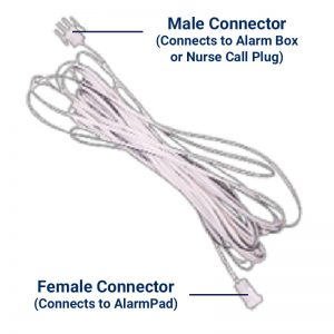 Stand Up Alarm Extension Cord