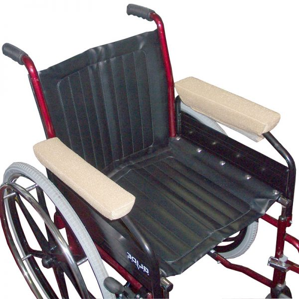 Velour Wheelchair Arm Rest Covers