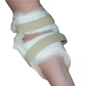 Wool Heel & Elbow Pads