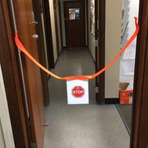 Doorway Webbing Barrier
