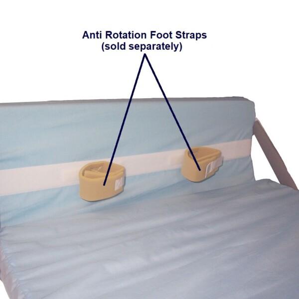 Heel & Footdrop Bed Support cuffs